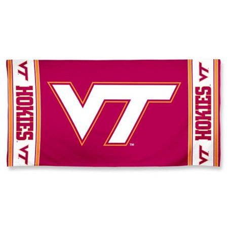 Virginia Tech Fiber Beach Towel 9lb 30