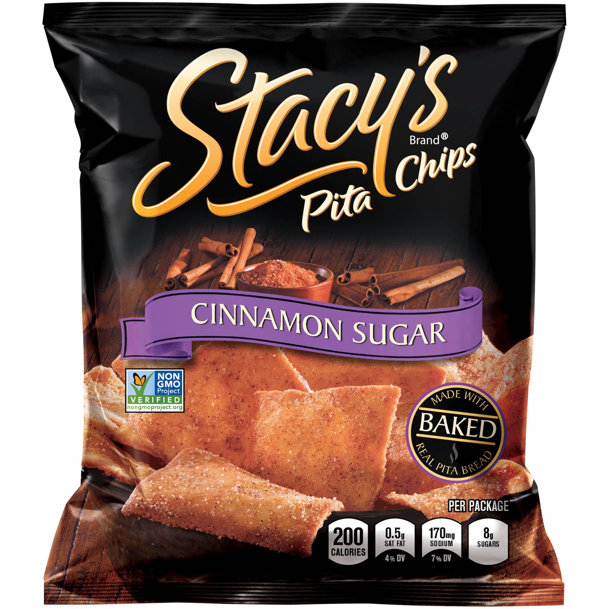 Frito - Lay Stacy's Cinnamon Sugar Pita Chips, 1.5 oz, 24 count