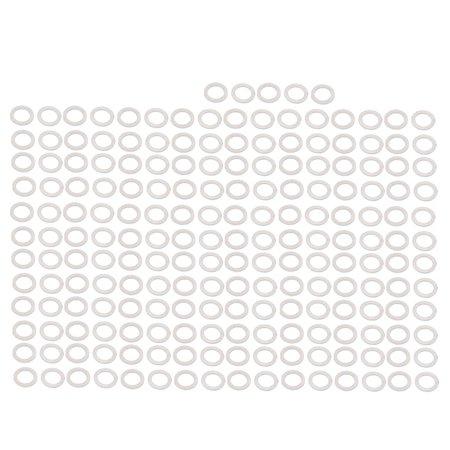 200pcs Matériau Moto 12mmx18mmx1mm rondelle bouchon vidange en alum. - image 2 de 2