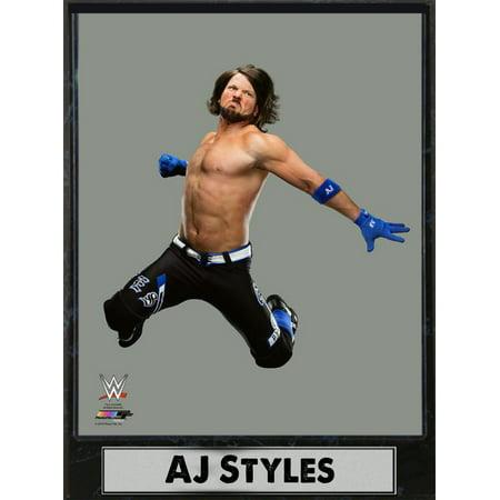 9x12 Photo Plaque - AJ Styles (Star Photo Plaque)