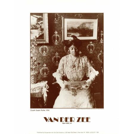Cousin Susan Porter 1914 Poster Print by James Van Der Zee (11 x 14) 11 X 14 Van