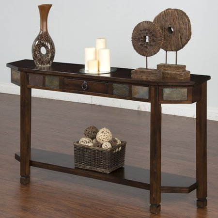 Loon Peak Fresno Console Table (Round Table Pizza Fresno)