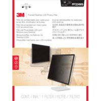 """3M PF324W9 Framed Privacy Filter for Widescreen Desktop LCD Monitor - For 24""""Monitor"""