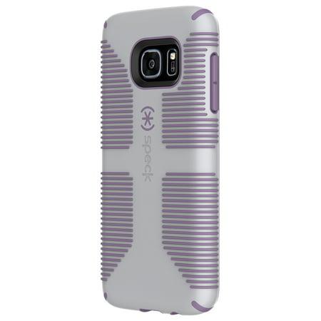 meet b1d9b da387 Speck CandyShell Grip Case for Galaxy S7, Grey and Purple