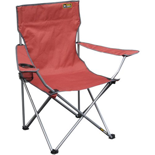 Quik Chair Folding Quad Camp Chair by Shelter Logic