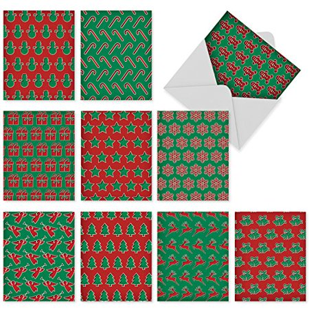 M6010 christmas pops 10 assorted all occasions greeting cards m6010 christmas pops 10 assorted all occasions greeting cards featuring dimensional patterns of favorite m4hsunfo
