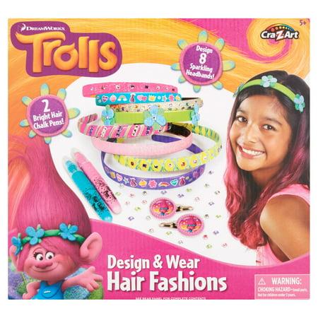 Cra-Z-Art Dreamworks Trolls Design & Wear Hair Fashions