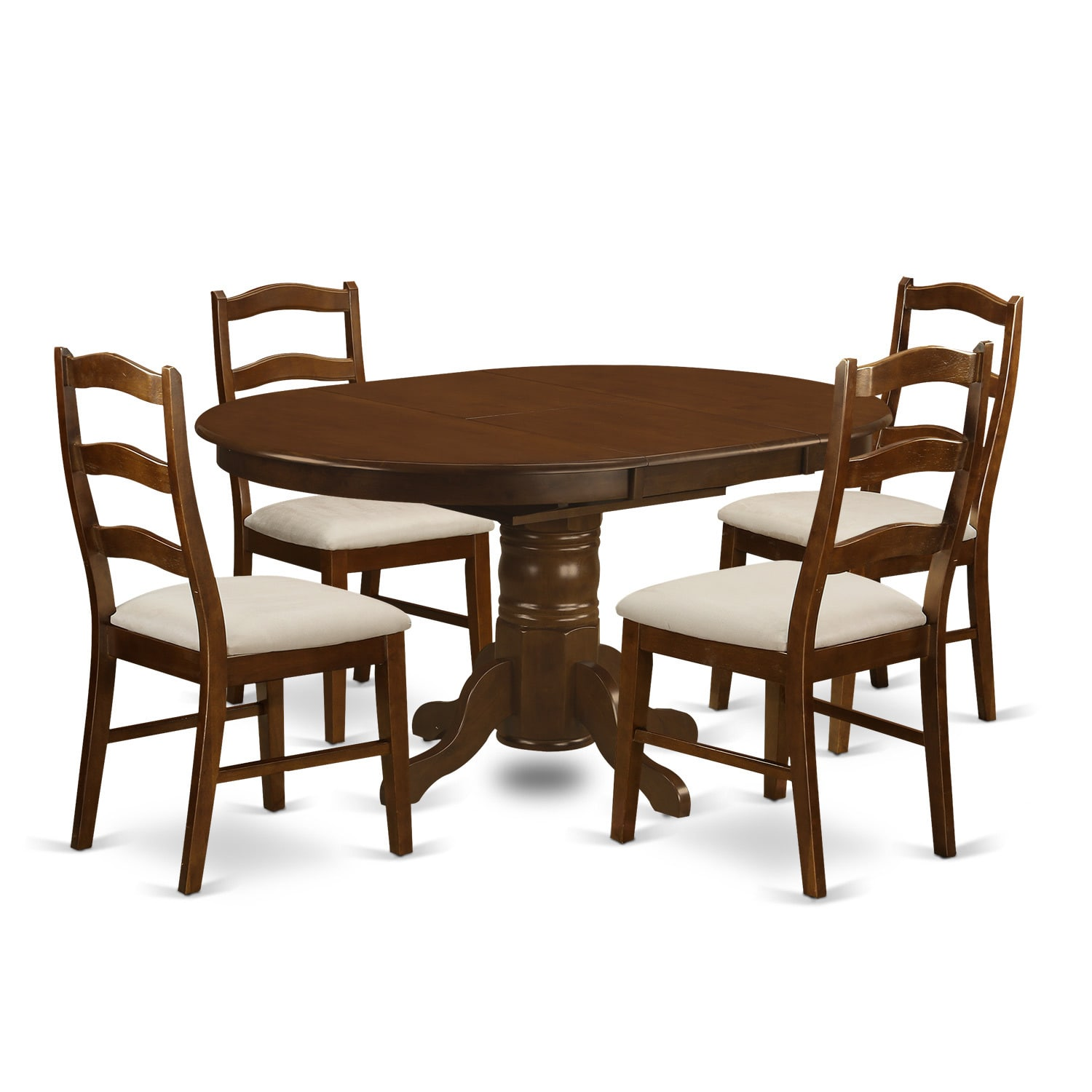 East West Furniture Llc Kehe Esp C Kenley Dining Table With One 18