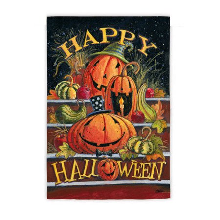Flag, Gar, Happy Halloween Steps