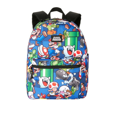 "Nintendo Super Mario Bros. 16"" Backpack"