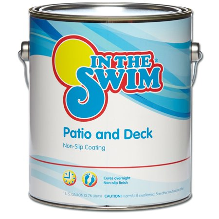 In The Swim Patio and Deck Paint Sand - 1 Gallon