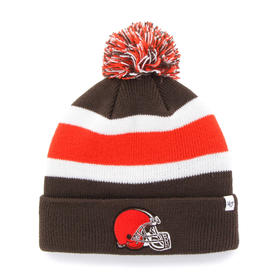 "Cleveland Browns 47 Brand NFL ""Breakaway"" Throwback Cuffed Knit Hat by 47 Brand"