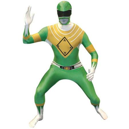 Power Rangers Morphsuit Adult Costume Green
