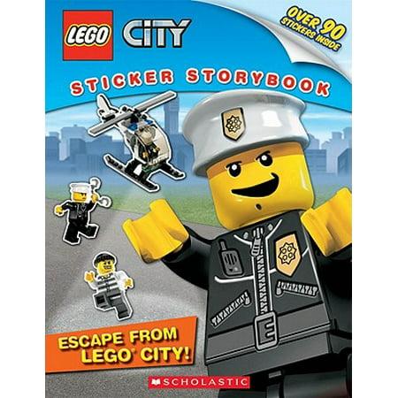 Lego City: Escape from Lego City! : Sticker