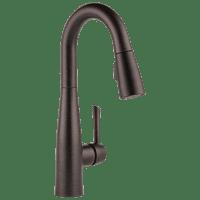 Essa Single Handle Pull-Down Bar / Prep Faucet in Chrome 9913-DST