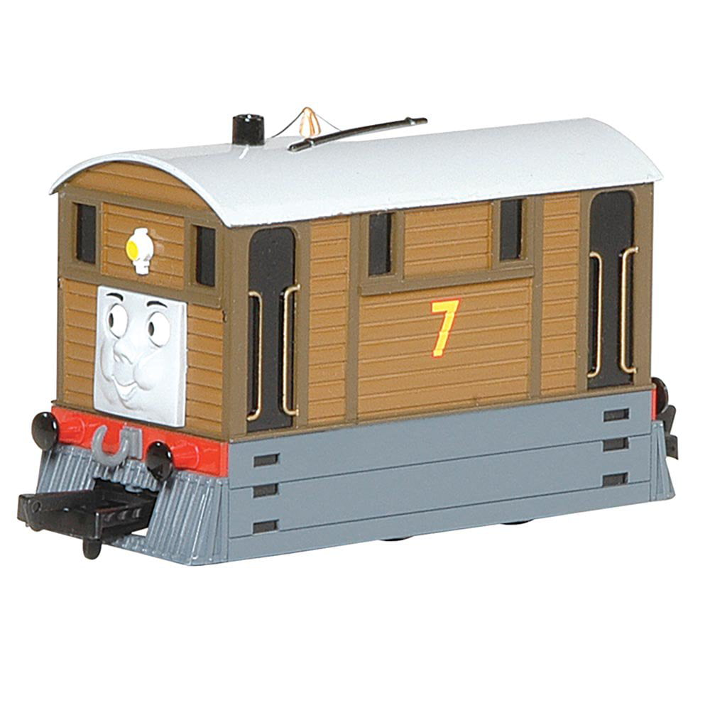 Bachmann Trains Thomas and Friends Toby The Tram Engine Locomotive with Moving Eyes, HO... by Bachmann