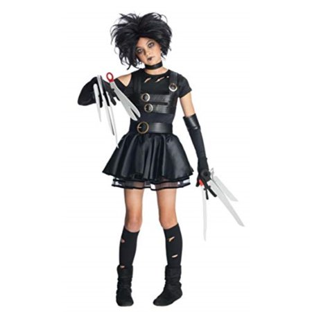 Miss Scissorhands Tween Halloween Costume - Edward Scissorhands Halloween Costumes