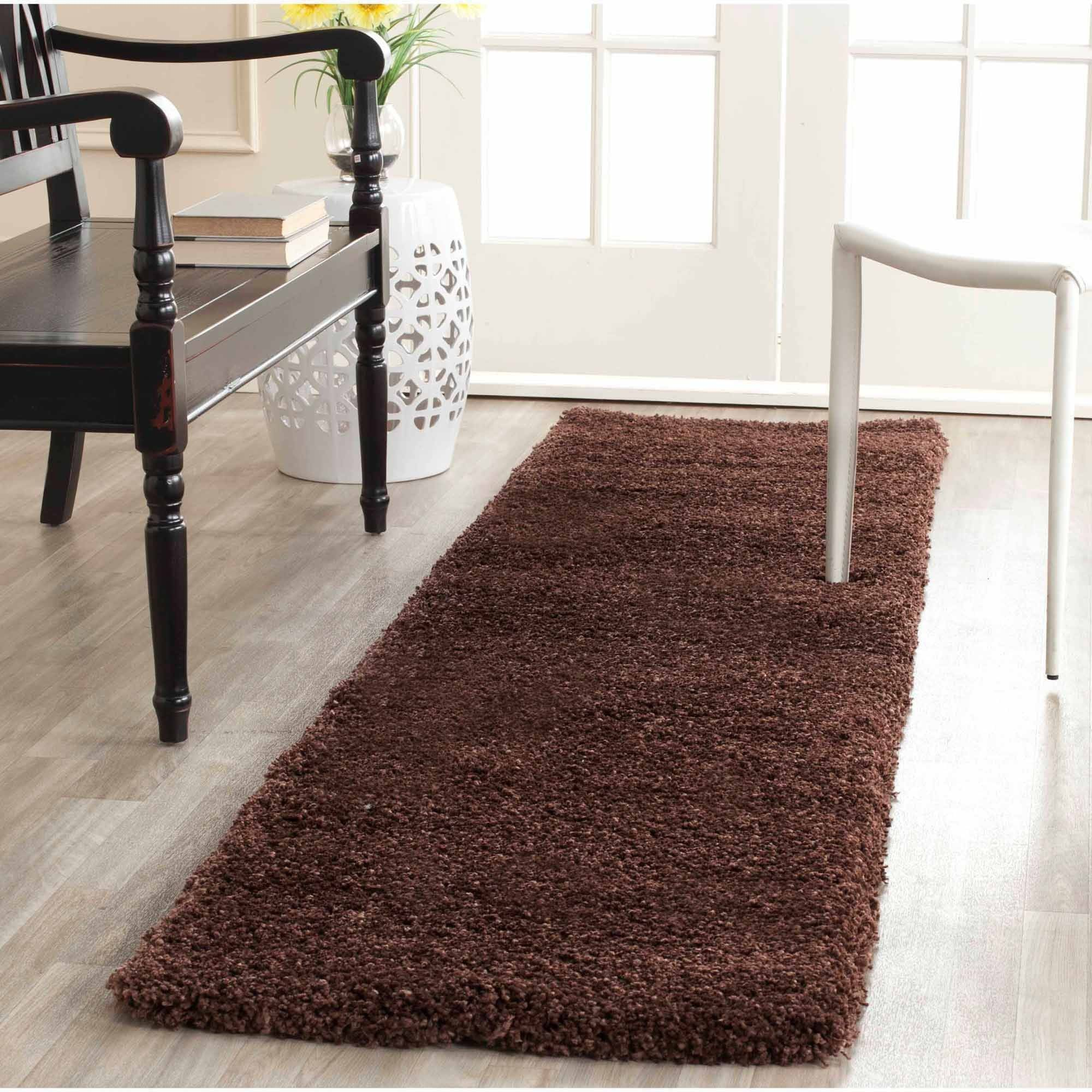 Safavieh Harlow Machine-Made Milan Shag Runner Rug