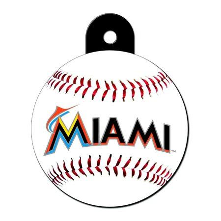 Marlin Tag - Miami Marlins Large Circle ID Tag