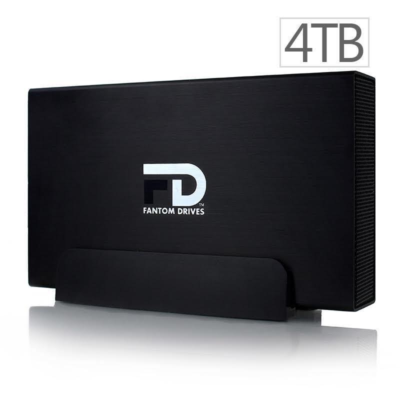 Fantom Drives GF3B4000U External Hard Drive GForce3 4TB USB 3.0