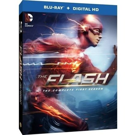 The Flash  The Complete First Season  Blu Ray   Digital Hd With Ultraviolet