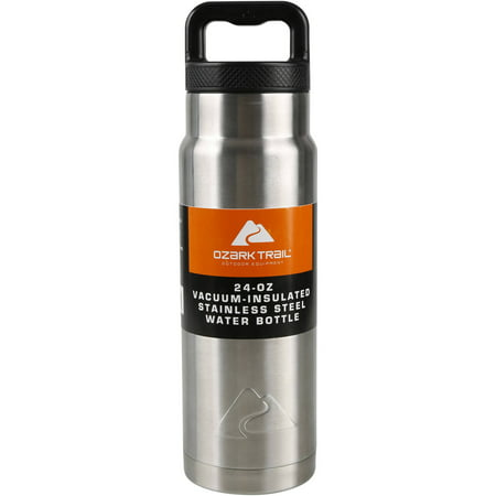 bd8b37c92a7 Ozark Trail 24 oz Double Wall Vacuum Stainless Steel Water Bottle