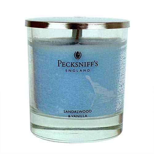 Pecksniffs 5.29oz Scented Candles with Lid Gingerflower /& Patchouli