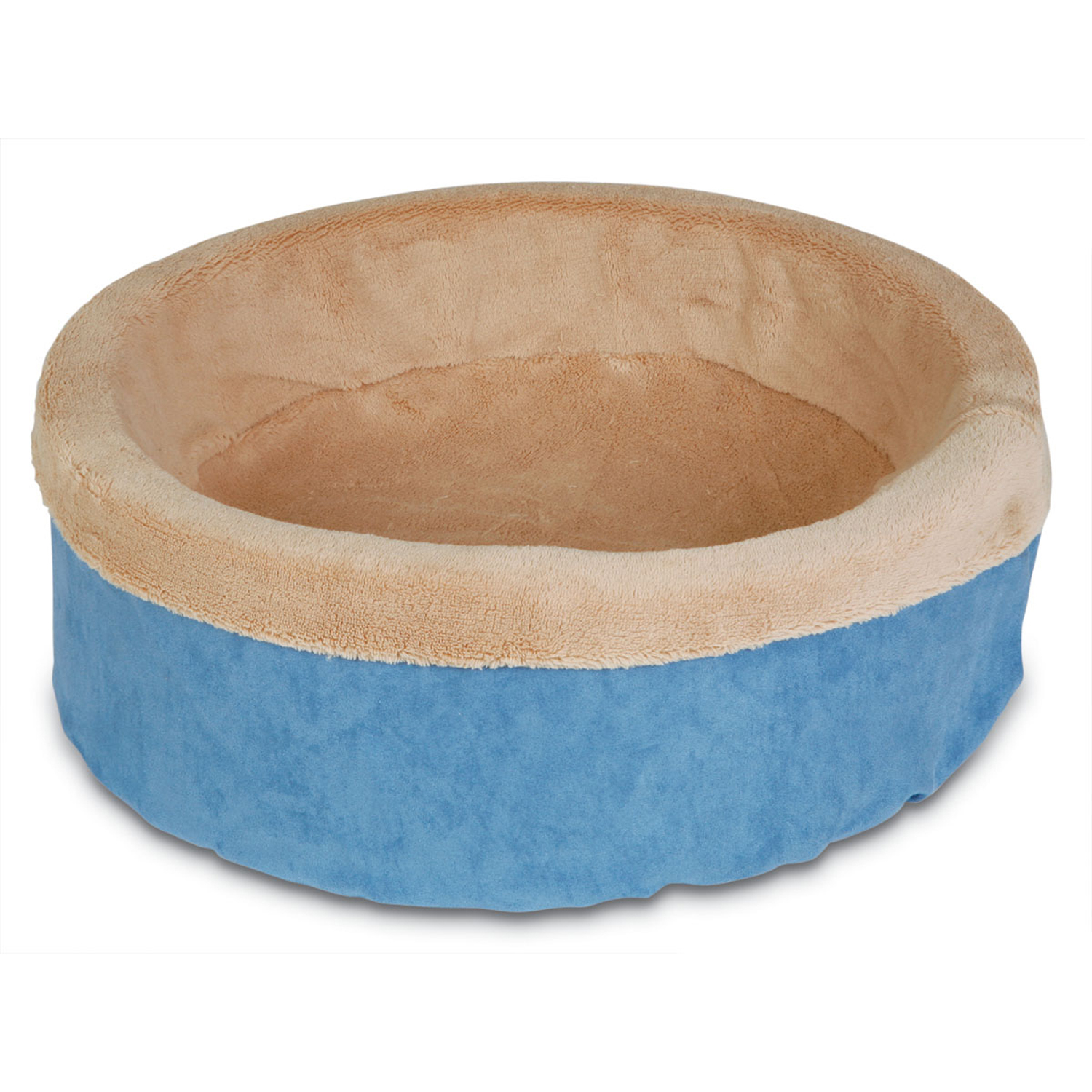 """Petmate 27897 17"""" Deluxe Cuddle Cup Pet Bed Assorted Colors"""