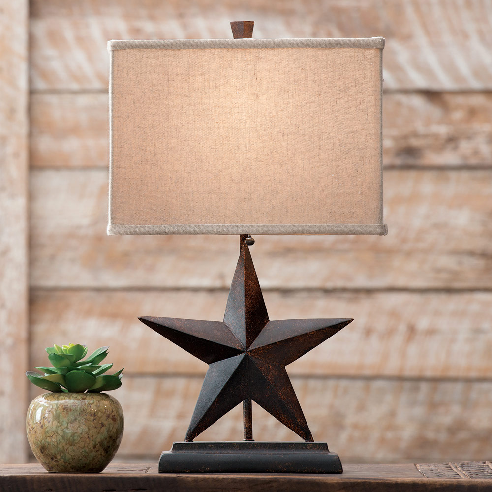 Merveilleux Lone Star Western Table Lamp   Rustic Fixtures   Walmart.com