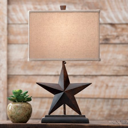 Lone Star Western Table Lamp   Rustic Fixtures