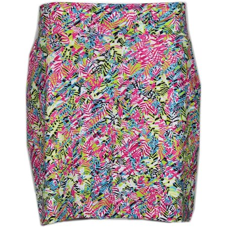 Page & Tuttle Womens Palm Print Skort Casual Pants & Shorts