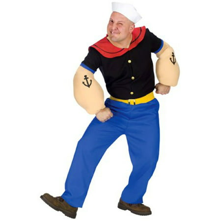 Popeye Adult Halloween (30's Costumes For Halloween)