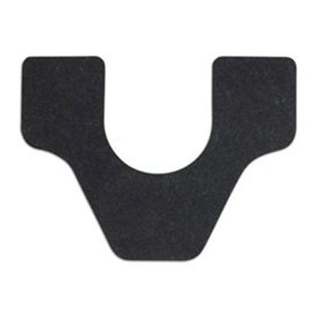 Wizkid Commode Cut Urinal Mat Black