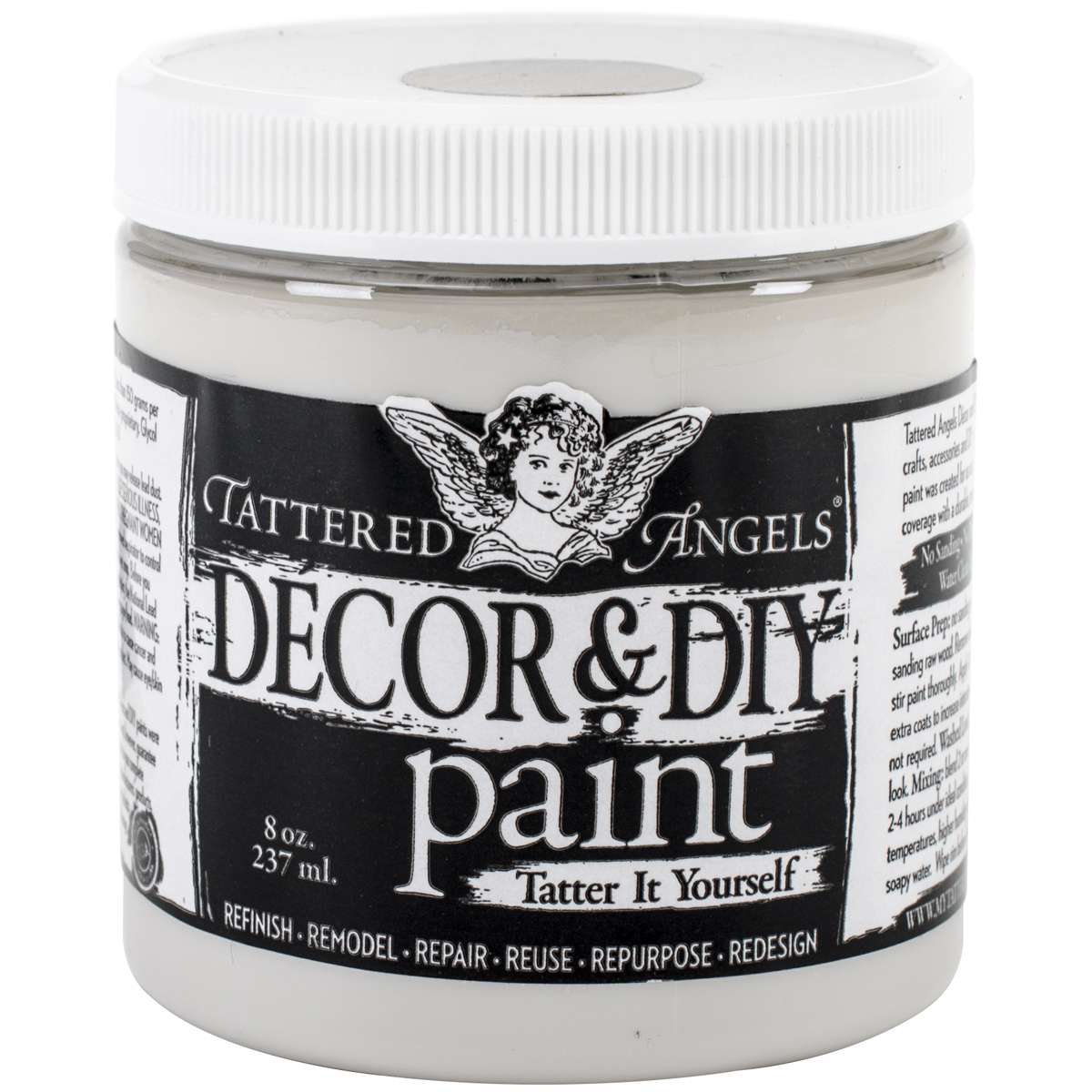 Decor & DIY Paint Cup 8oz-Sterling