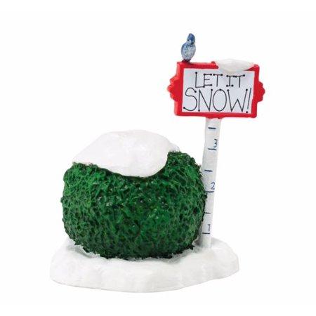 Department 56 Snow Village Let It Snow Sign Accessory Figurine 4047551 New Department 56 Heritage Village