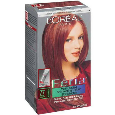Feria 77 Hair Color Sunset Blaze