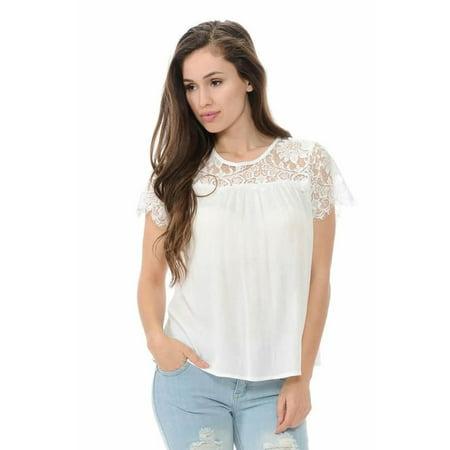 Diamante Women's Blouse · Style EA7134