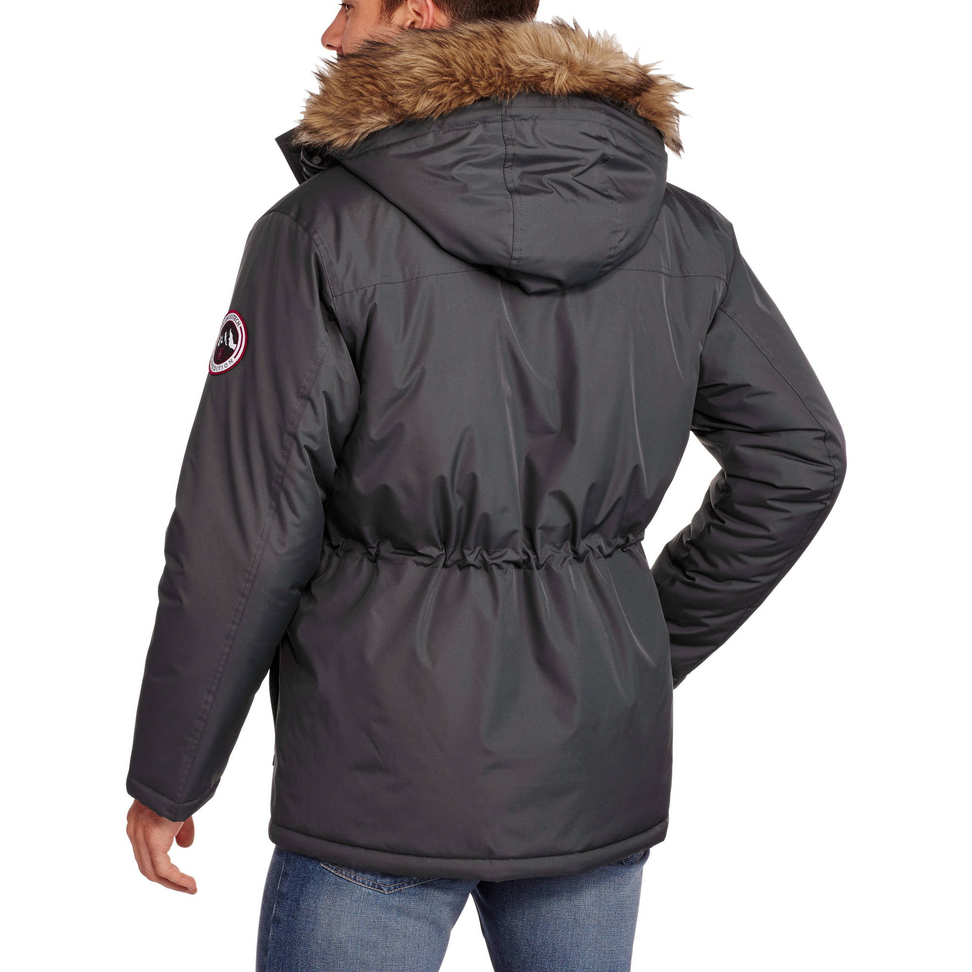 Swiss Tech Men's Heavy Weight Parka Jacket - Walmart.com