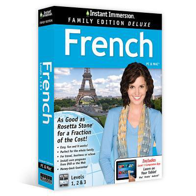 Instant Immersion French  Level 1 3  Family Edition
