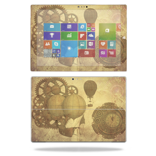 Mightyskins protective vinyl skin decal cover for microsoft surface pro 3 tablet skins wrap sticker skins