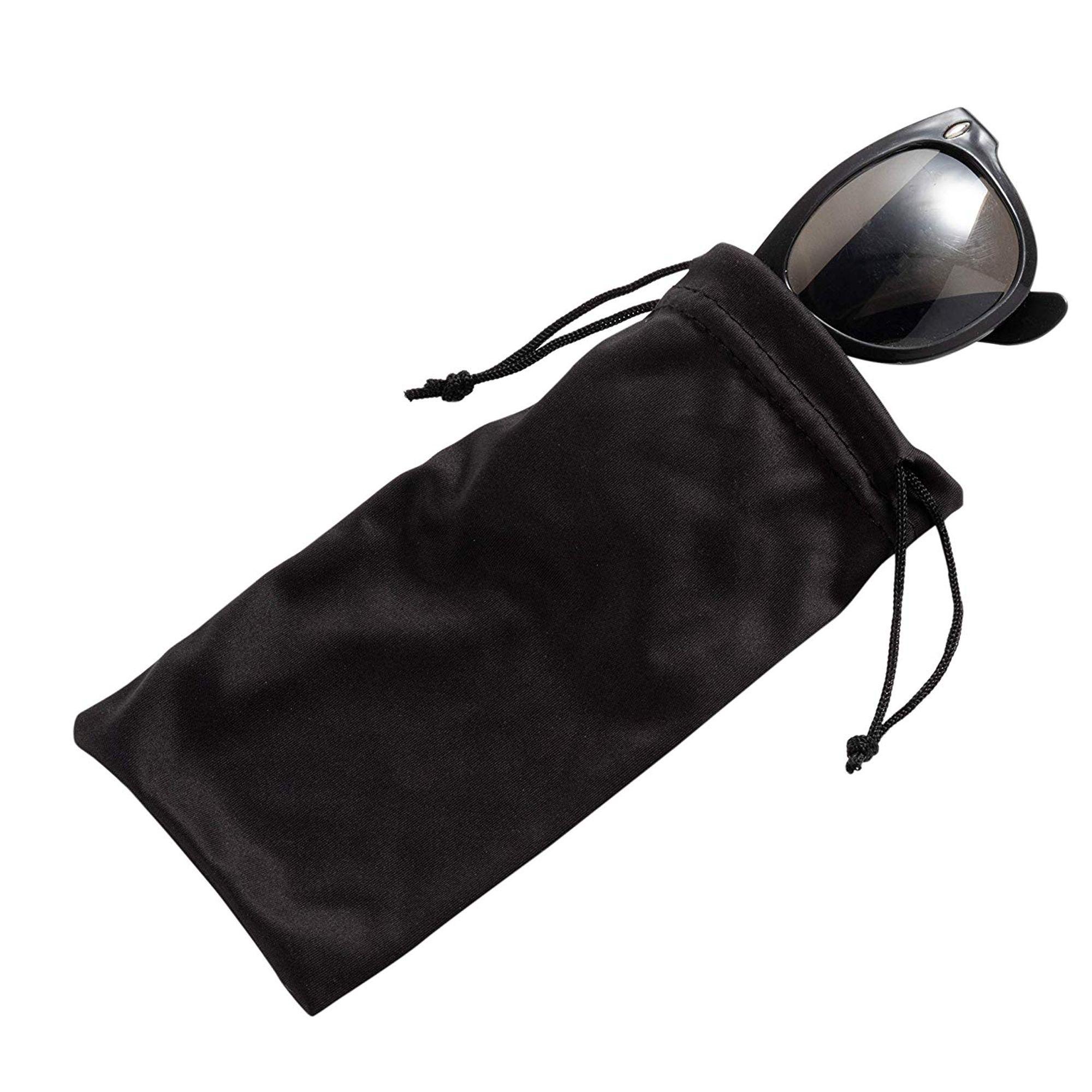 SOME Microfiber Drawstring Sunglasses Pouch