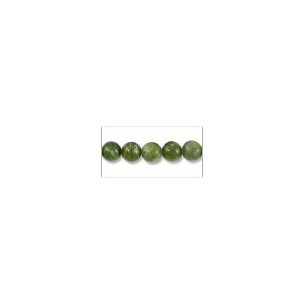 "Canadian Jade Round Beads 8mm (16"" Strand)"