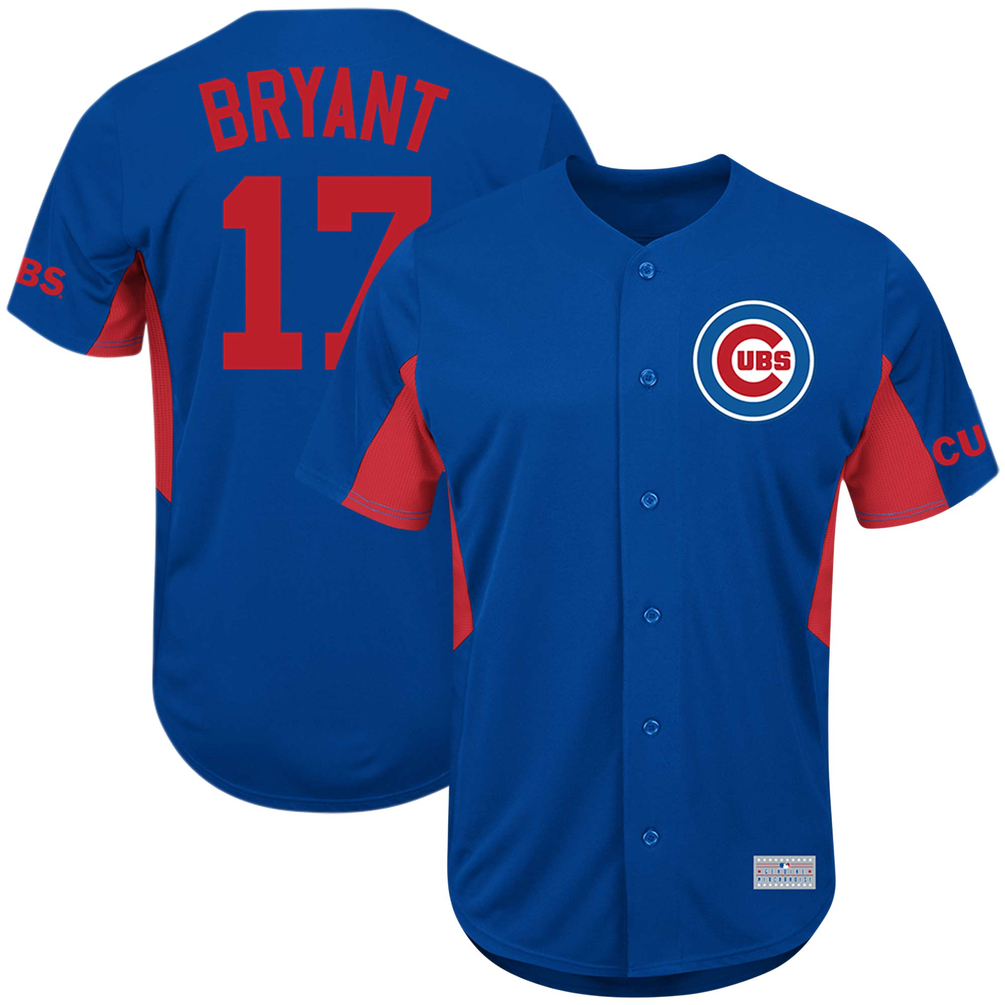Kris Bryant Chicago Cubs Majestic MLB Jersey - Royal