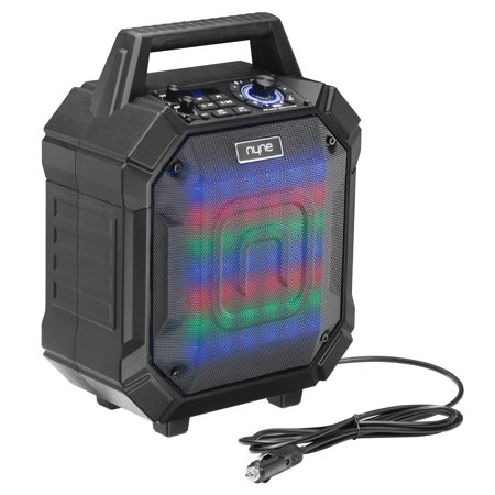 NYNE RACER - Portable Wireless Party Speaker with Party Lights