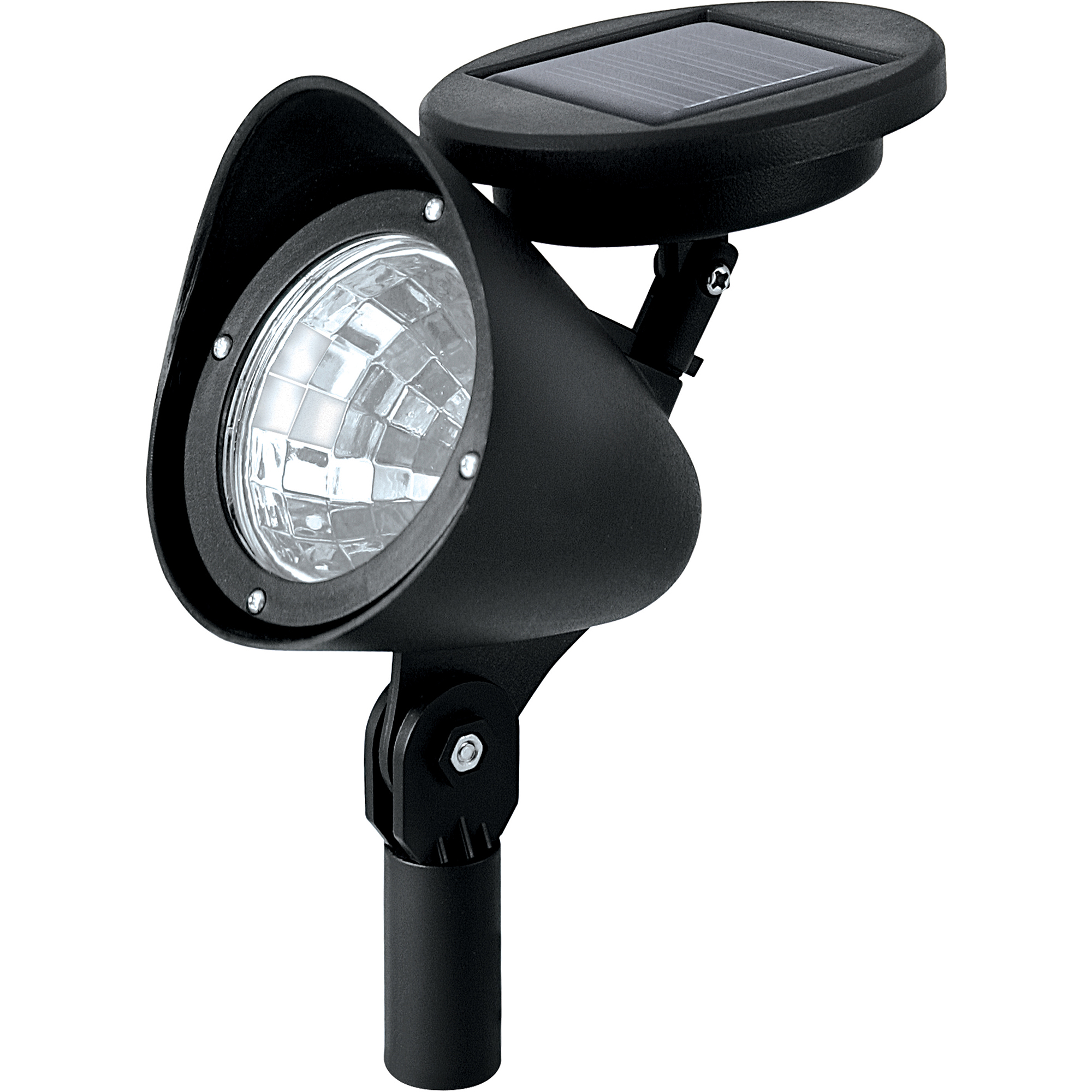 Paradise Lighting Solar LED Plastic Spotlight, 2pk
