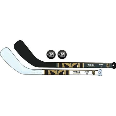 Franklin Sports Vegas Golden Knights Mini Hockey Stick & Ball Set