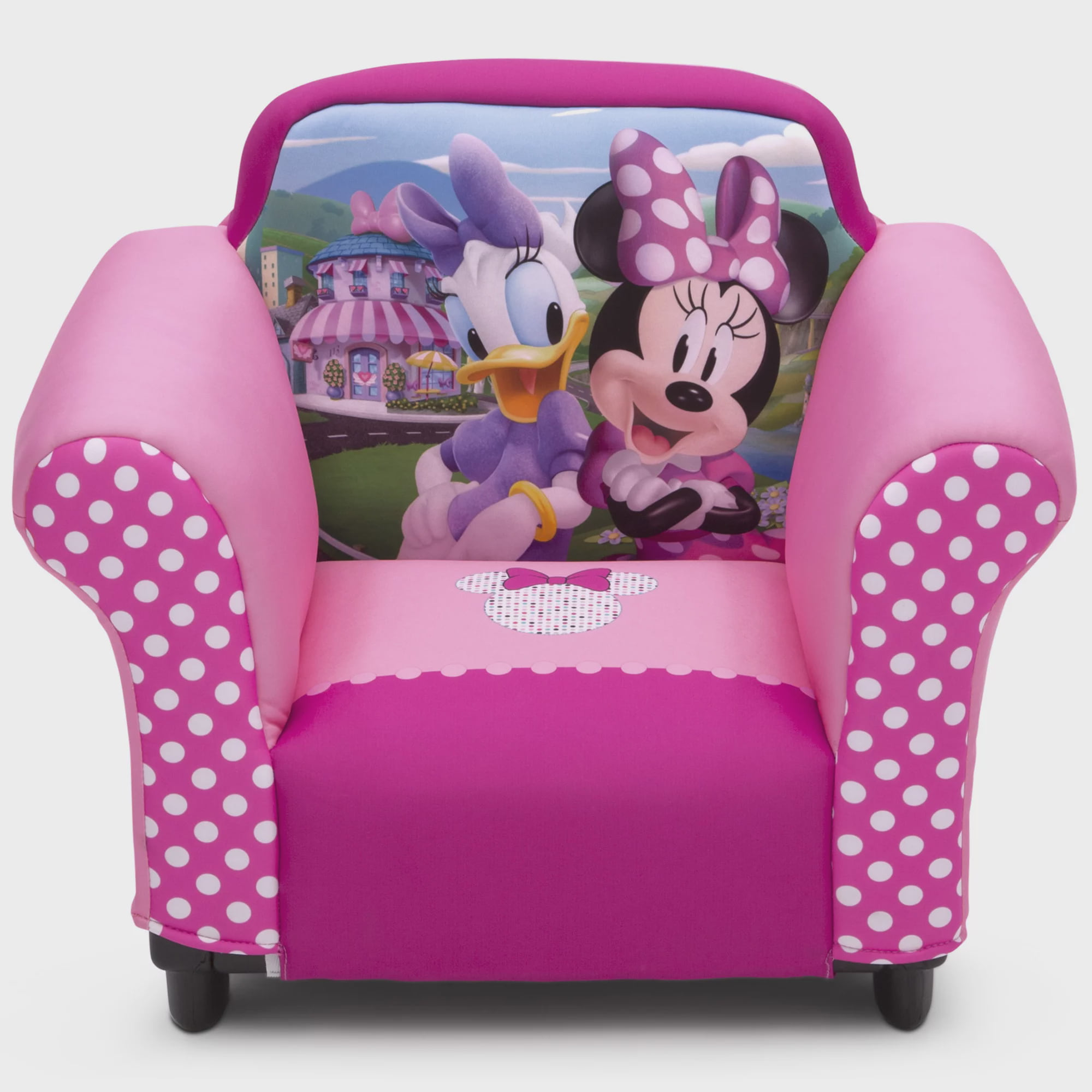 Delta Children Disney Minnie Mouse Kids Upholstered Chair with