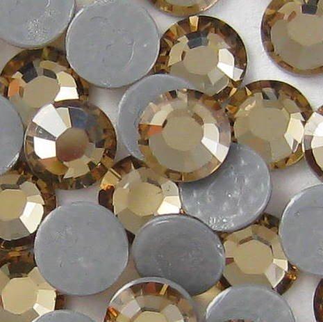 NEW ThreadNanny CZECH Quality 10gross (1440pcs) HotFix Rhinestones Crystals - 4mm/16ss, TOPAZ Color