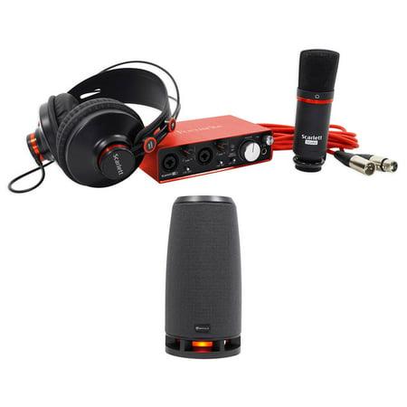focusrite scarlett studio 2i2 2nd gn usb audio interface mic headphones rockship. Black Bedroom Furniture Sets. Home Design Ideas