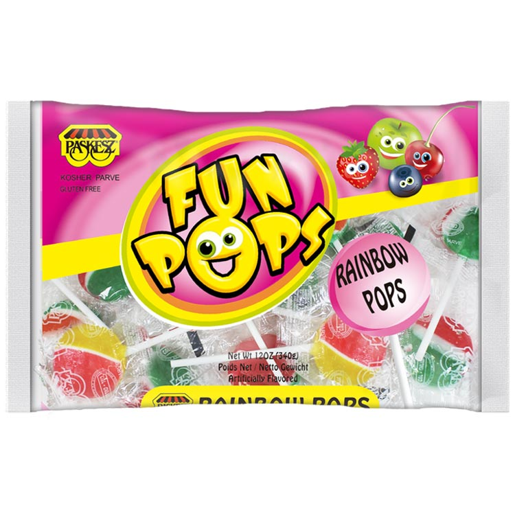 Paskesz Fun Pops Rainbow Pops Family Pack